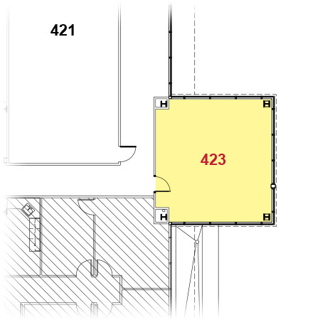 Rogers Facility - 423 Floor Plan