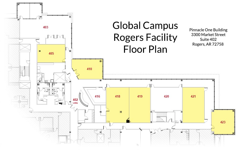 Rogers Facility - Floor Plan