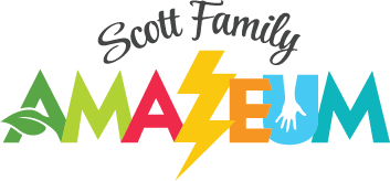 Scott Family Amazeum Logo